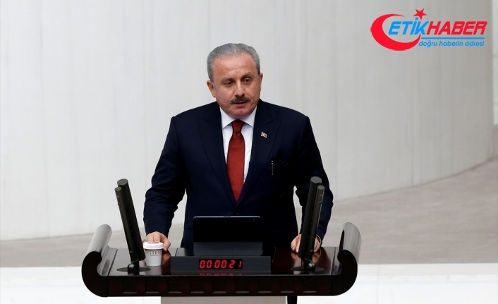 TBMM Başkanı Mustafa Şentop: Bu vazife benim için çok büyük bir mazhariyettir