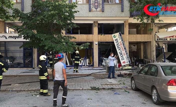 Konya'da iş yerinde patlama
