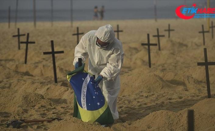Kovid-19'dan son 24 saatte Brezilya'da 1437, Hindistan'da 904, Meksika'da 829 kişi öldü