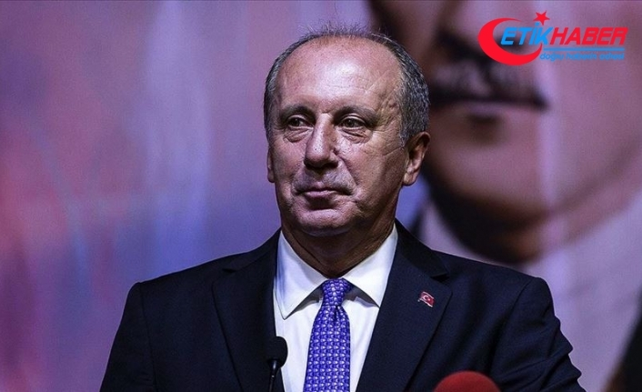 Muharrem İnce: 4 Eylül'de Sivas'tan 'Bin Günde Memleket Hareketi' başlatacağım