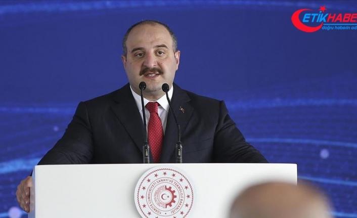 Sanayi ve Teknoloji Bakanı Varank: 2023'e giden süreçte somut hedefler belirledik