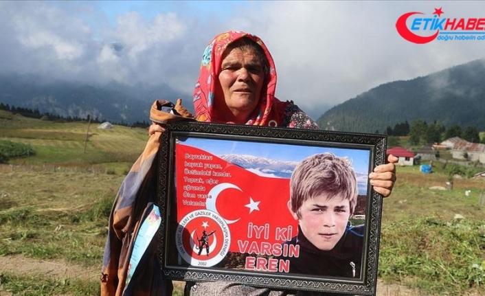 Şehit Eren Bülbül'ün annesi: Şehit yavrum tüm Türkiye'nin acısı oldu
