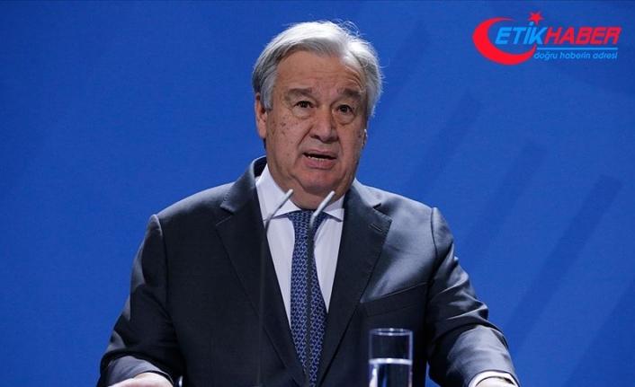 Guterres'ten dünya liderlerine 'küresel ateşkesi 100 gün içinde hayata geçirin' çağrısı