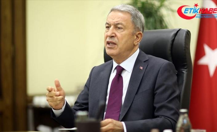 Milli Savunma Bakanı Akar, Libya Yüksek Devlet Konseyi Başkanı ile görüştü