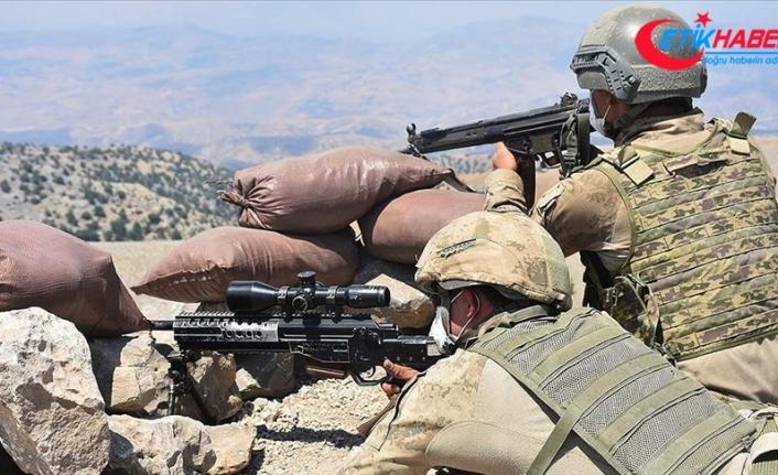 Şırnak'ın Kato Jirka bölgesinde 4 terörist etkisiz hale getirildi