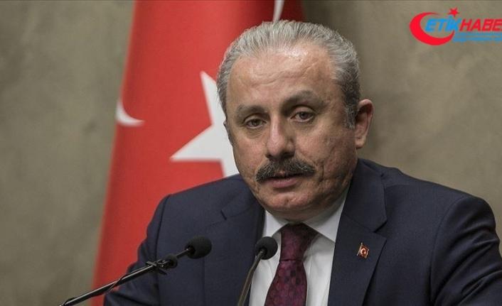 TBMM Başkanı Şentop: Türkiye'nin ihtiyacı olan yeni Anayasa konusunda elimi taşın altına koymaya hazırım