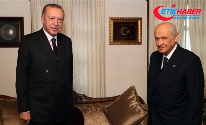 MHP Lideri Bahçeli, Cumhurbaşkanı Erdoğan'ın doğum gününü kutladı