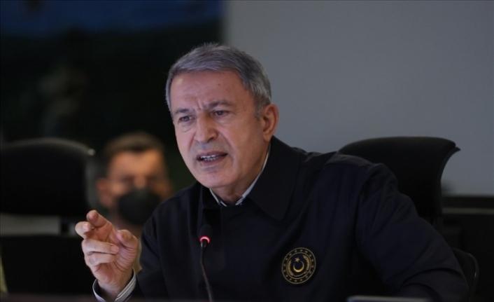 Milli Savunma Bakanı Akar'dan, Yunanistan'a silahlanma tepkisi