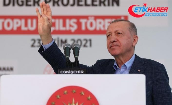 Cumhurbaşkanı Erdoğan: Yaşadığımız sıkıntılar geçicidir ama elde edeceğimiz kazançlar nesiller boyu devam edecektir
