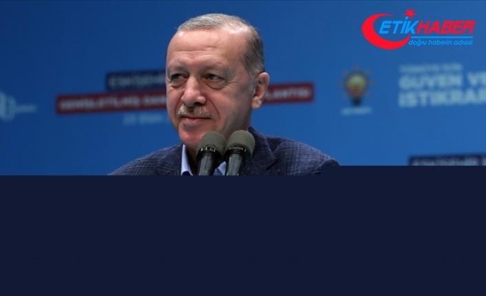 Cumhurbaşkanı Erdoğan: Dünyanın en büyük 10 ekonomisinden biri olma hedefimize muhakkak ulaşacağız