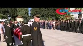 Manisa'da şehit olan 3 asker için tören düzenlendi