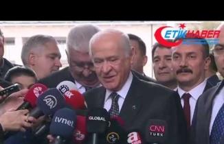 MHP Lideri Devlet Bahçeli'den Fox Tv'ye ayar..