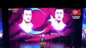 Şehit ikiz polislerin babasının şiiri herkesi ağlattı