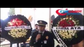 Şehit polis Bayram Bozdoğan'ın Osmaniye'de uğurlandı